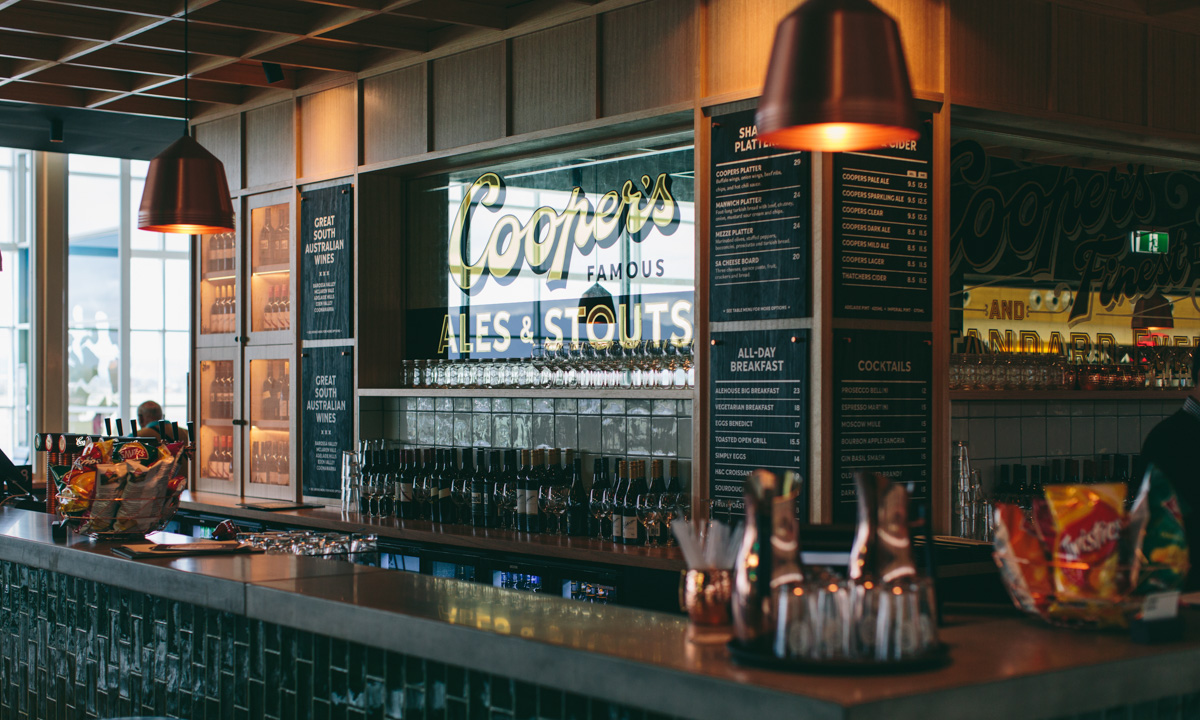 A Closer Look At The New Coopers Alehouse At The Airport