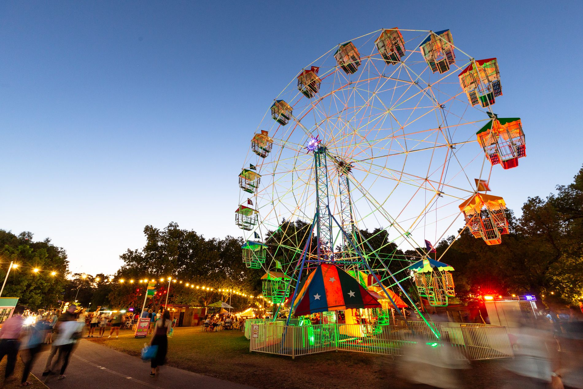 whattime does garden of unearthly delights open