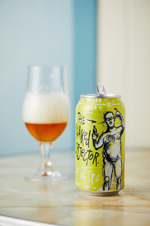 Little Bang's Naked Objector NEIPA - available at NOLA