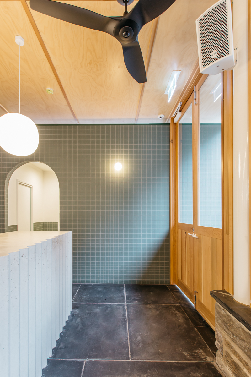 Photo of Part Time Lover's corrugated concrete bar