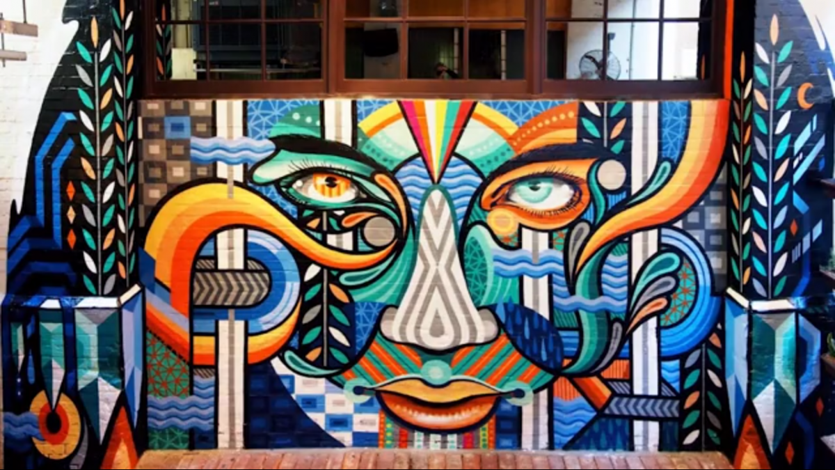 Outdoor Mural Painting Australia